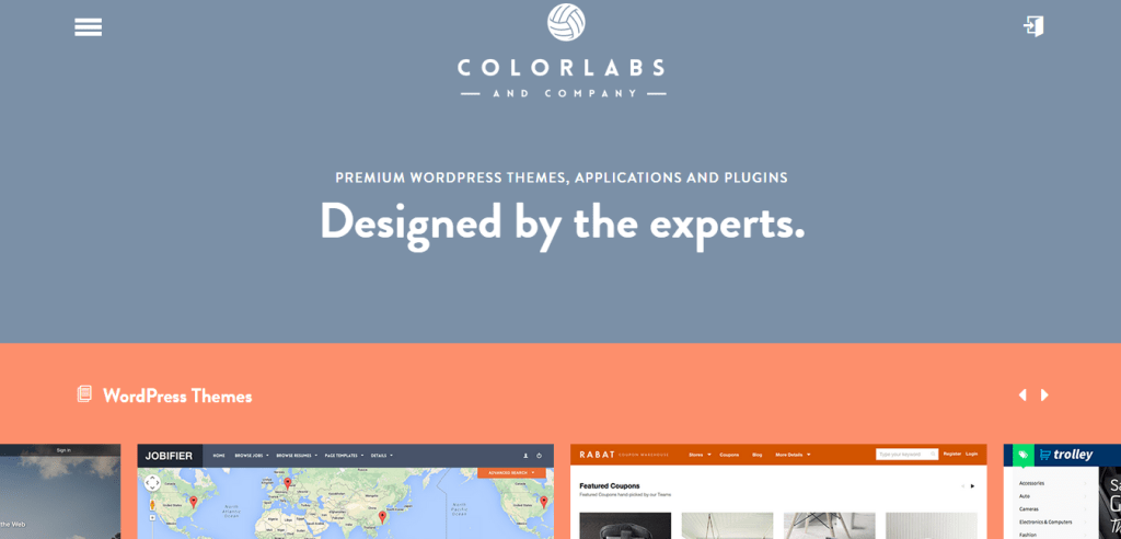 WordPress Themes by Colorlabs Company