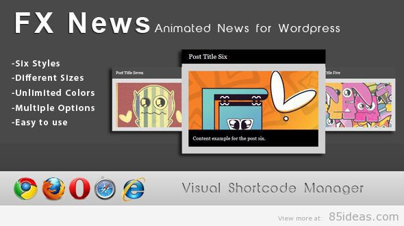 Wordpress Animated Shortcodes