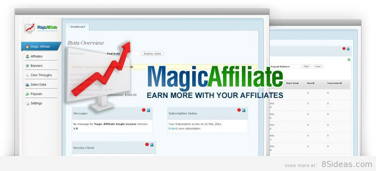 magic affiliate plugin