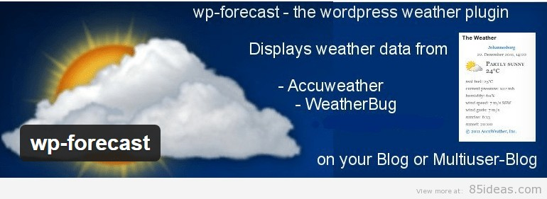 WordPress Weather Forecast Plugins