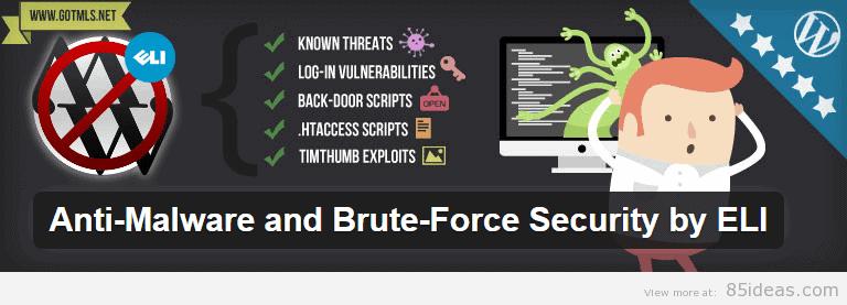 Anti Malware and Brute Force Security Plugin