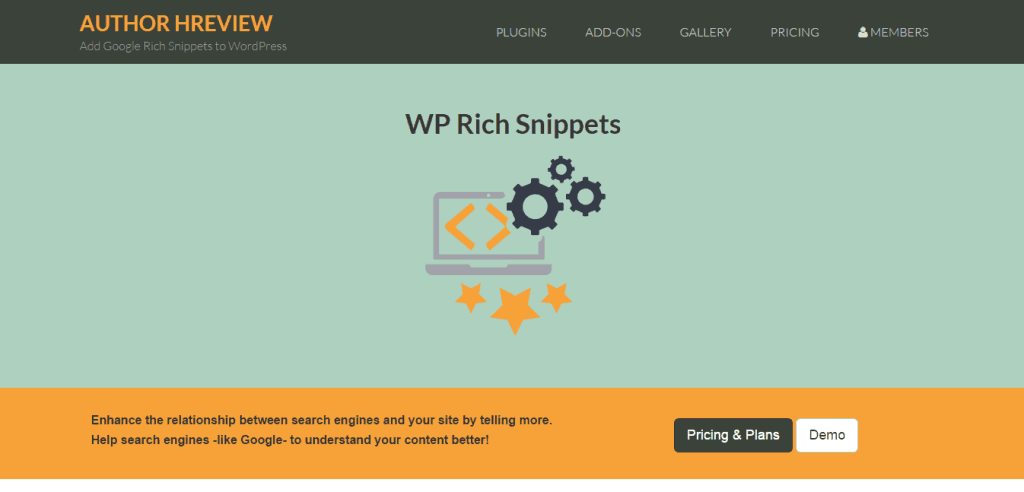 Author HReview WordPress Rich Snippets Plugin