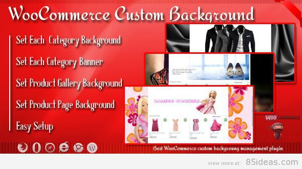 Background Banner for WooCommerce