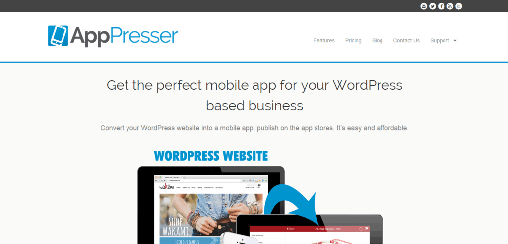 Build iOS Android mobile apps AppPresser