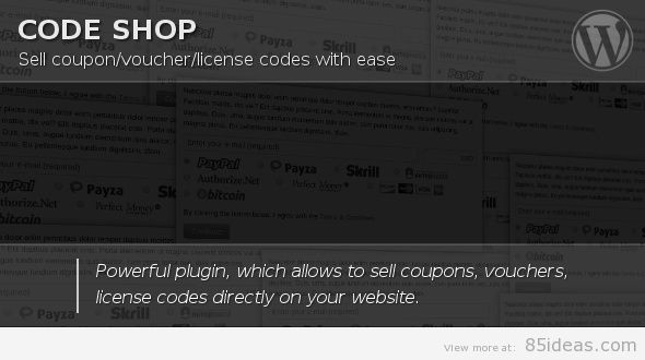 Code Shop for WordPress