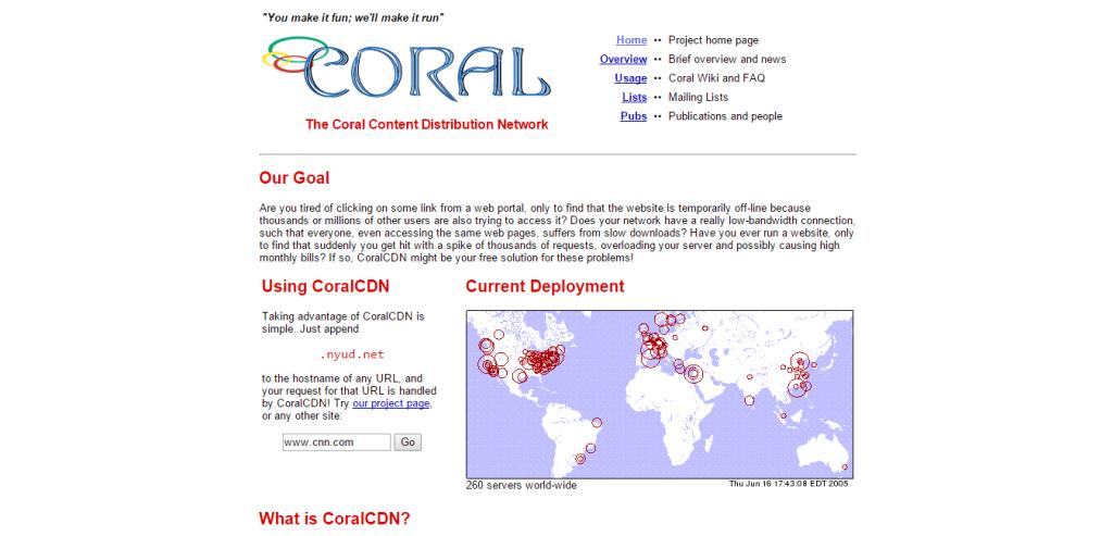 Coral CDN