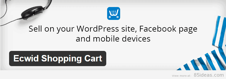 Ecwid Shopping Cart Plugin