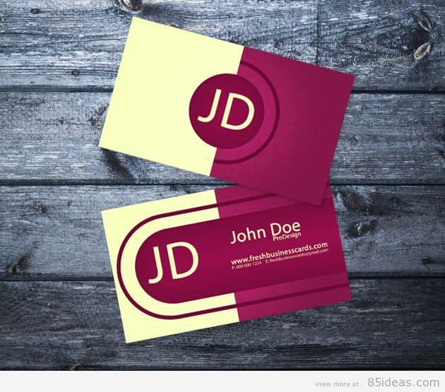 Elegant Personal Business Cards
