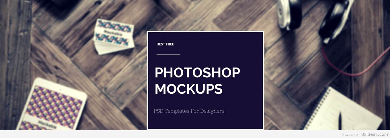 40+ Free Photoshop PSD Mockup and Templates