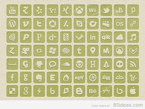 Freebie Social Media Icons