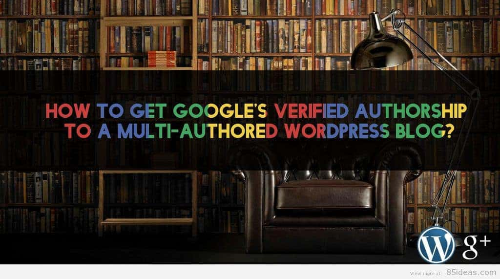 google verified authorship