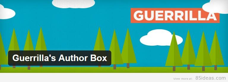 Guerrilla Author Box Plugin