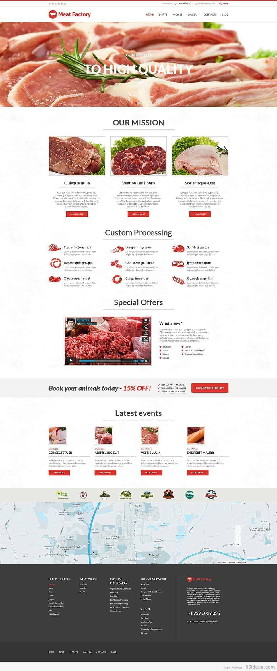 Meat WordPress Theme