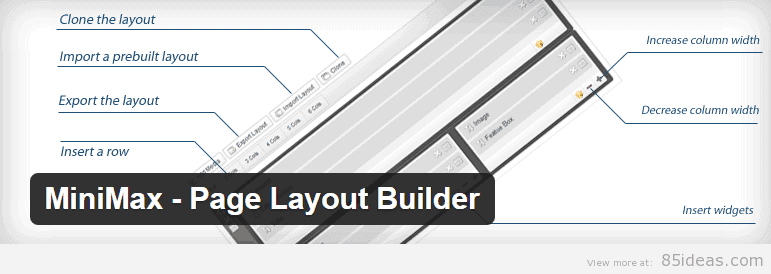 MiniMax Page Layout Builder