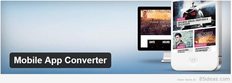 Mobile App Converter Plugin