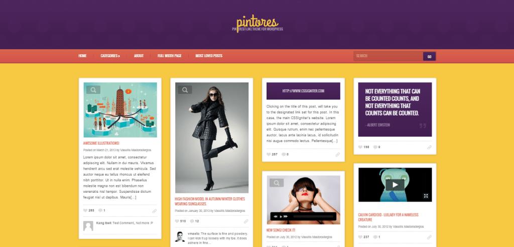 Pintores WordPress Theme