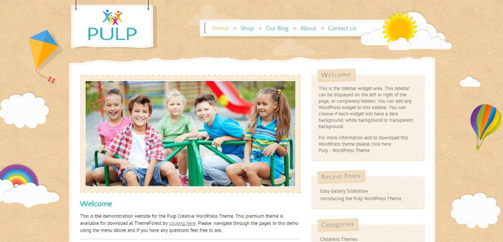 Pulp Creative WordPress Theme