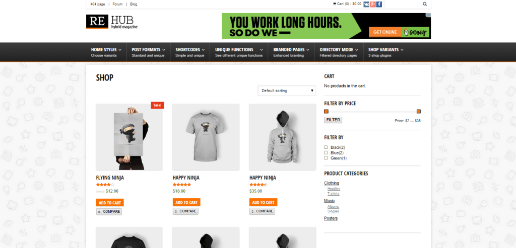 ReHub Store Theme - Best Amazon Affiliate WordPress Themes