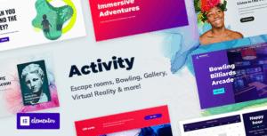 Activity-Booking-WordPress-Theme