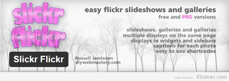 Slickr Flickr Plugin
