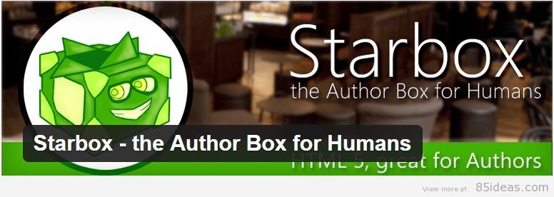 Starbox Author Box Plugin