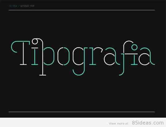 Stela UT font
