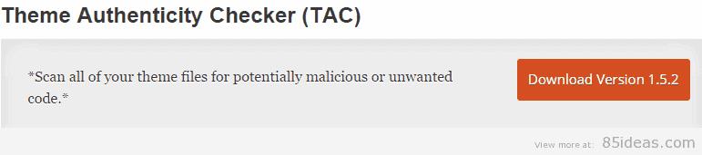 Theme Authenticity Checker Plugin