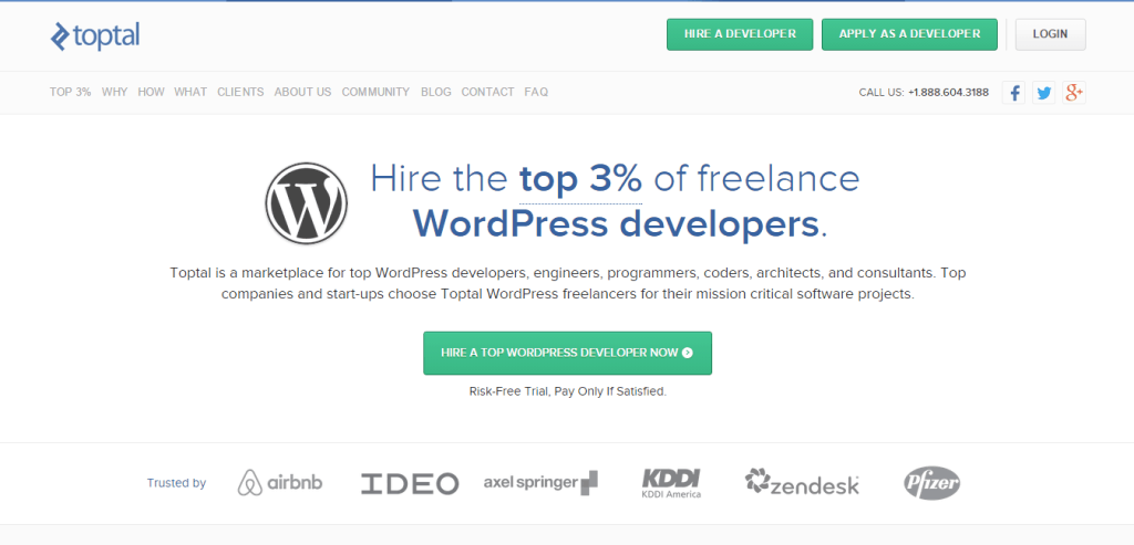Toptal WordPress Developers for Hire