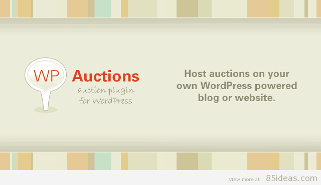 WP Auctions Plugin