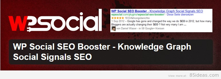 WP Social SEO Booster Plugin