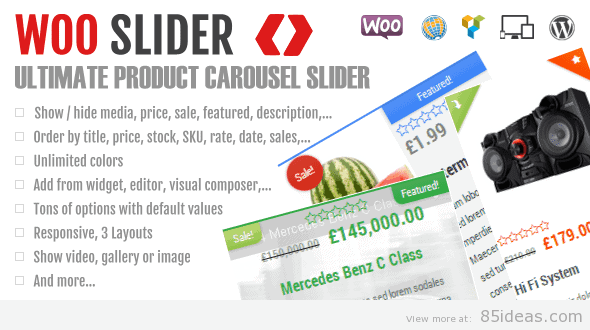 Woo Commerce Product Slider