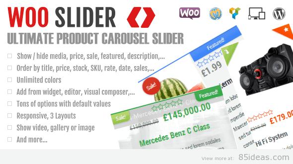 Woo Commerce Product Slider
