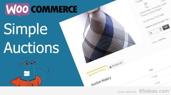 WooCommerce Simple Auctions Plugin