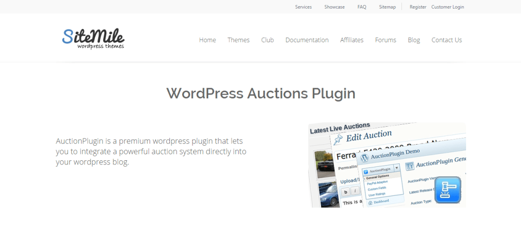 best WordPress Auctions themes