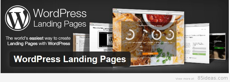WordPress Splash Page Plugins