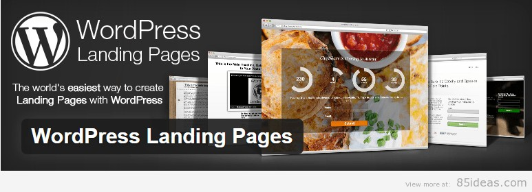 WordPress Landing Pages Plugin