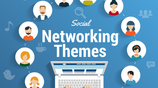 WordPress Social Networking Themes
