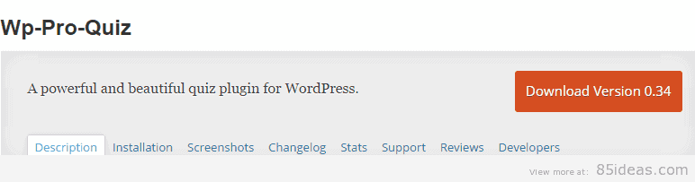 Wp Pro Quiz WordPress Plugin