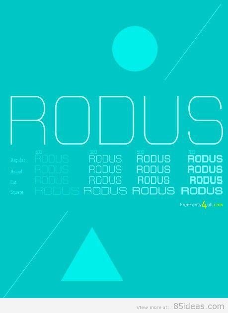 free-font-rodus