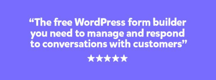 happyforms wordpress feedback plugin