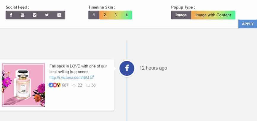 Social Timeline - WordPress Social Stream