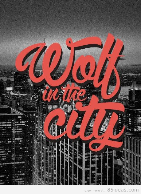 wolf-in-the-city-font