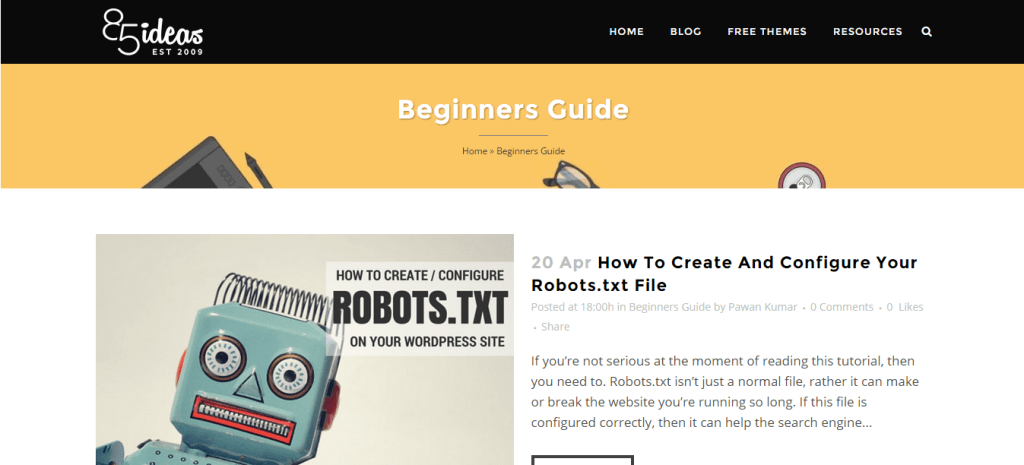 Beginners Guide Archives 85ideas