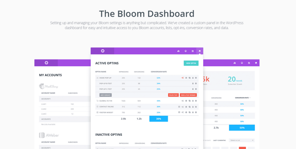 Bloom Email Opt In Plugin
