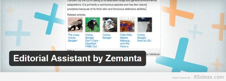 Editorial Assistant by Zemanta