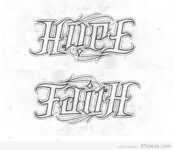 Tattoo Word Generator: Free Ambigram Generators Online 2020 + Creative Example