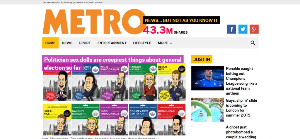 Metro co uk