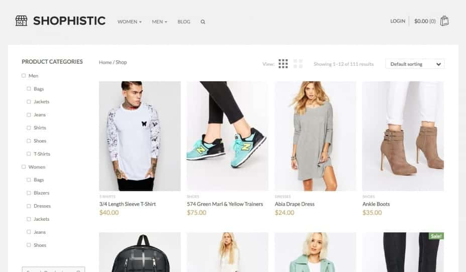 Shop Ecommerce WordPress Themes