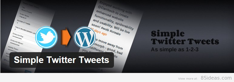 Simple Twitter Tweets Widget