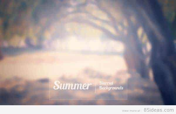 Summer-Blurred-Backgrounds